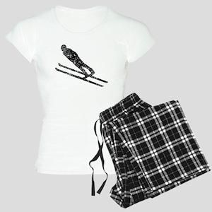 Vintage Ski Jumper Pajamas