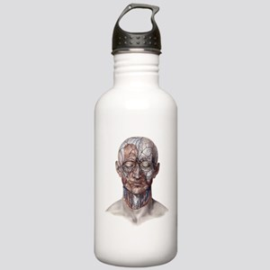 Human Anatomy Face Stainless Water Bottle 1.0L