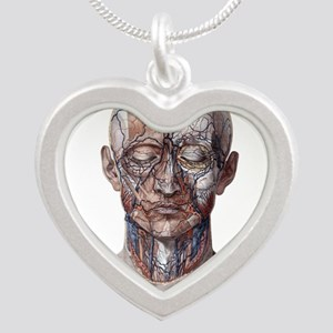 Human Anatomy Face Necklaces