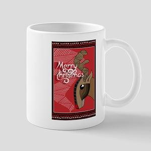 Australian Aboriginal Art - Christmas Reindeer Mug