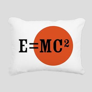 Einstein E=MC2 Rectangular Canvas Pillow