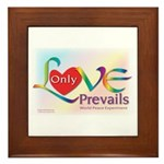 Only Love Prevails Framed Tile