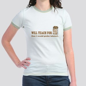 Unique gifts for teachers Jr. Ringer T-Shirt