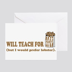 Unique gifts for teachers Greeting Card