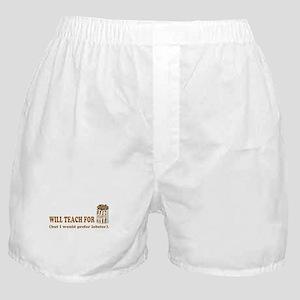Unique gifts for teachers Boxer Shorts