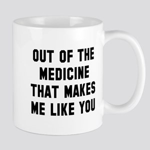 Out of the medicine Mug