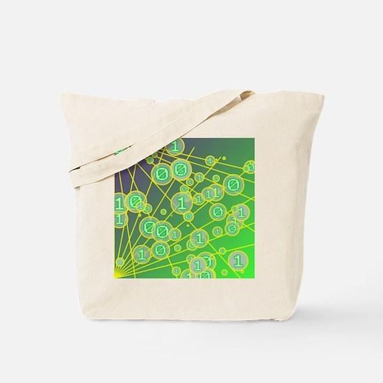 Random bits Tote Bag