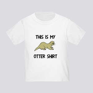 this is my otter Toddler T-Shirt