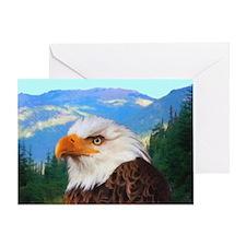 Bald Eagle Card Greeting Cards
