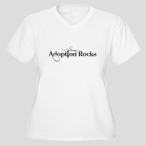 Adoption Rocks Plus Size T-Shirt