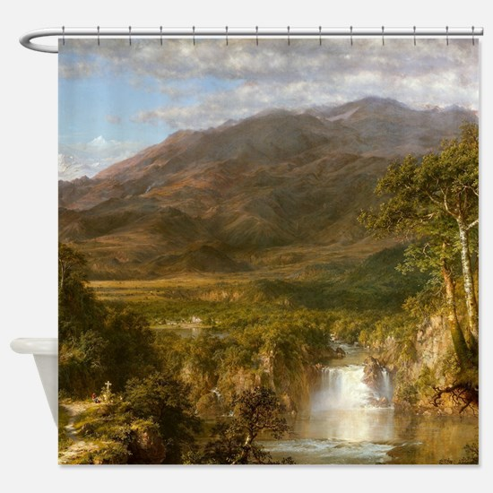 Heart Of The Andes Shower Curtain