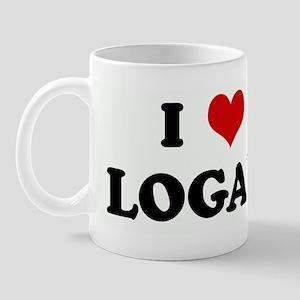 I Love LOGAN Mug