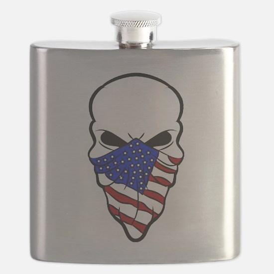 Cute Flag Flask