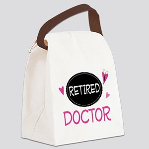 Retired Doctor Canvas Lunch Bag