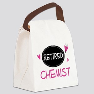 Retired Chemist Canvas Lunch Bag