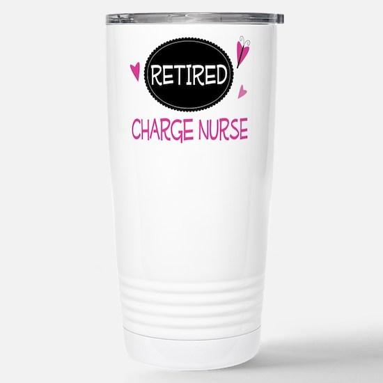 Retired Charge Nurse Stainless Steel Travel Mug