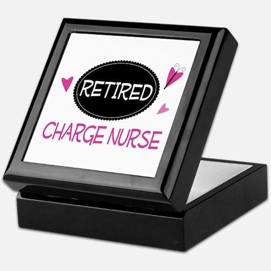 Retired Charge Nurse Keepsake Box