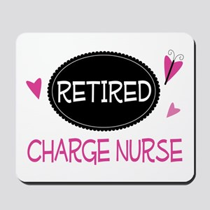Retired Charge Nurse Mousepad