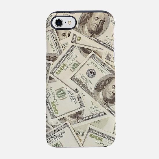 Dollar Bills iPhone 7 Tough Case