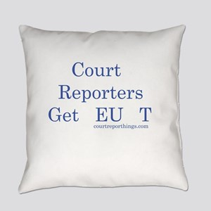 Reporters Get It Everyday Pillow
