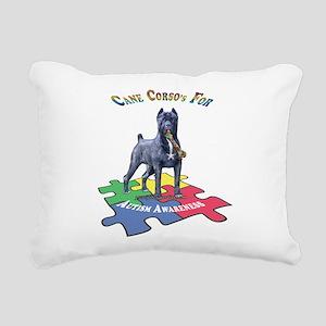 Cane Corso Rectangular Canvas Pillow