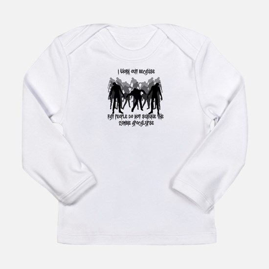 Workout Zombies Long Sleeve T-Shirt