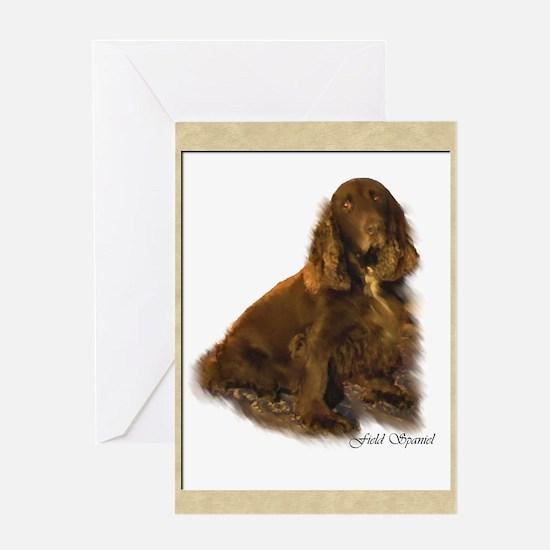 Field Spaniel Greeting Card