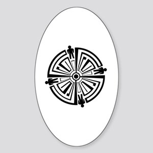 Haven Guard Tattoo Sticker (Oval)