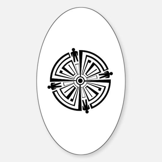 Haven Guard Tattoo Sticker (Oval)