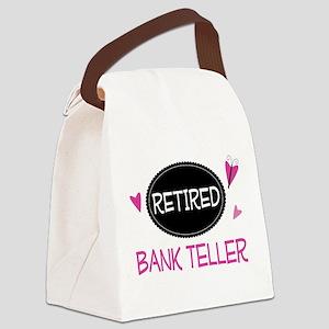Retired Bank Teller Canvas Lunch Bag