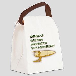 50th Rocket Canvas Lunch Bag