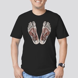 Vintage Human Anatomy  Men's Fitted T-Shirt (dark)