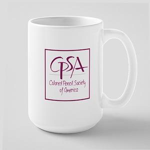 C P S A Logo Large Mugs