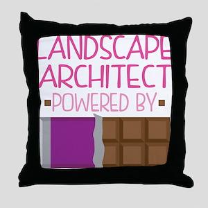 Landscape Architect Throw Pillow