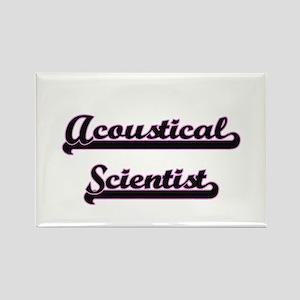 Acoustical Scientist Classic Job Design Magnets