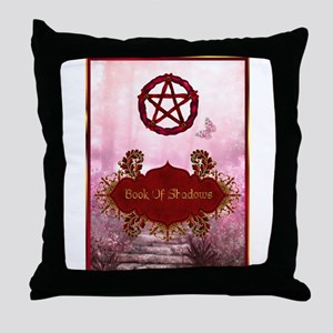 Book of Shadows Throw Pillow