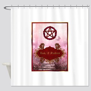 Book of Shadows Shower Curtain
