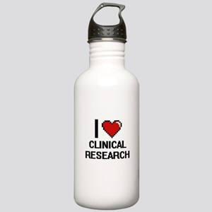 I Love Clinical Resear Stainless Water Bottle 1.0L
