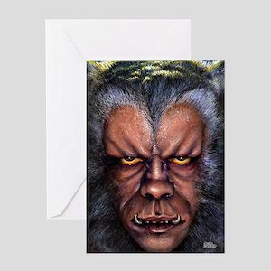 Werewolf Curse Greeting Card