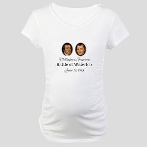 Waterloo 200th Anniversary Maternity T-Shirt