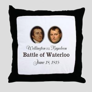 Waterloo 200th Anniversary Throw Pillow