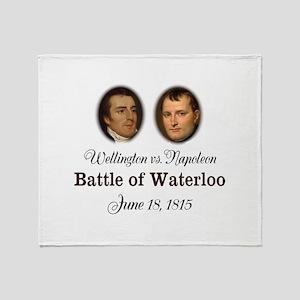 Waterloo 200th Anniversary Throw Blanket