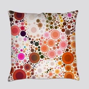 mod circles pattern Everyday Pillow