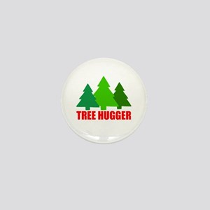 TREE HUGGER Mini Button
