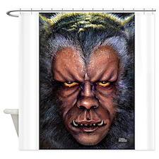 Werewolf Curse Shower Curtain