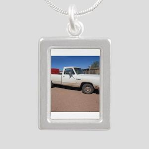 Antique White Truck Necklaces