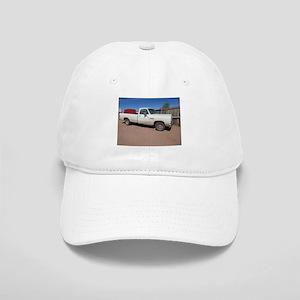 Antique White Truck Baseball Cap