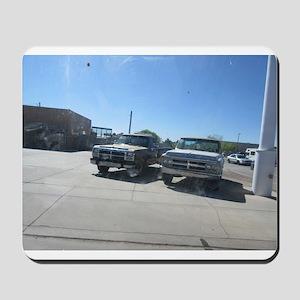 Old Trucks Mousepad