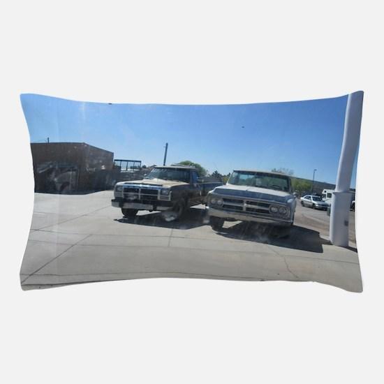 Old Trucks Pillow Case