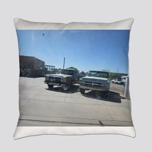 Old Trucks Everyday Pillow